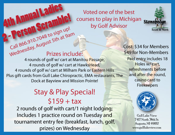 Ladies 2-Person Golf Scramble