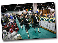 Chicago Golf Show Bagpipes