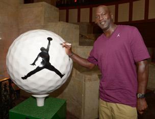 Michael Jordan Golf Ball