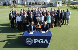PGA Bevacqua and Fettig with Community