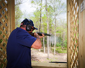 French Lick Resort shooting range